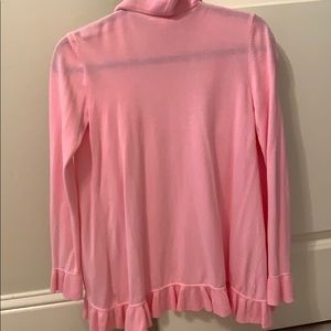 Lilly Pulitzer Sweaters - Lilly Pulitzer Pink Ruffle Sweater!